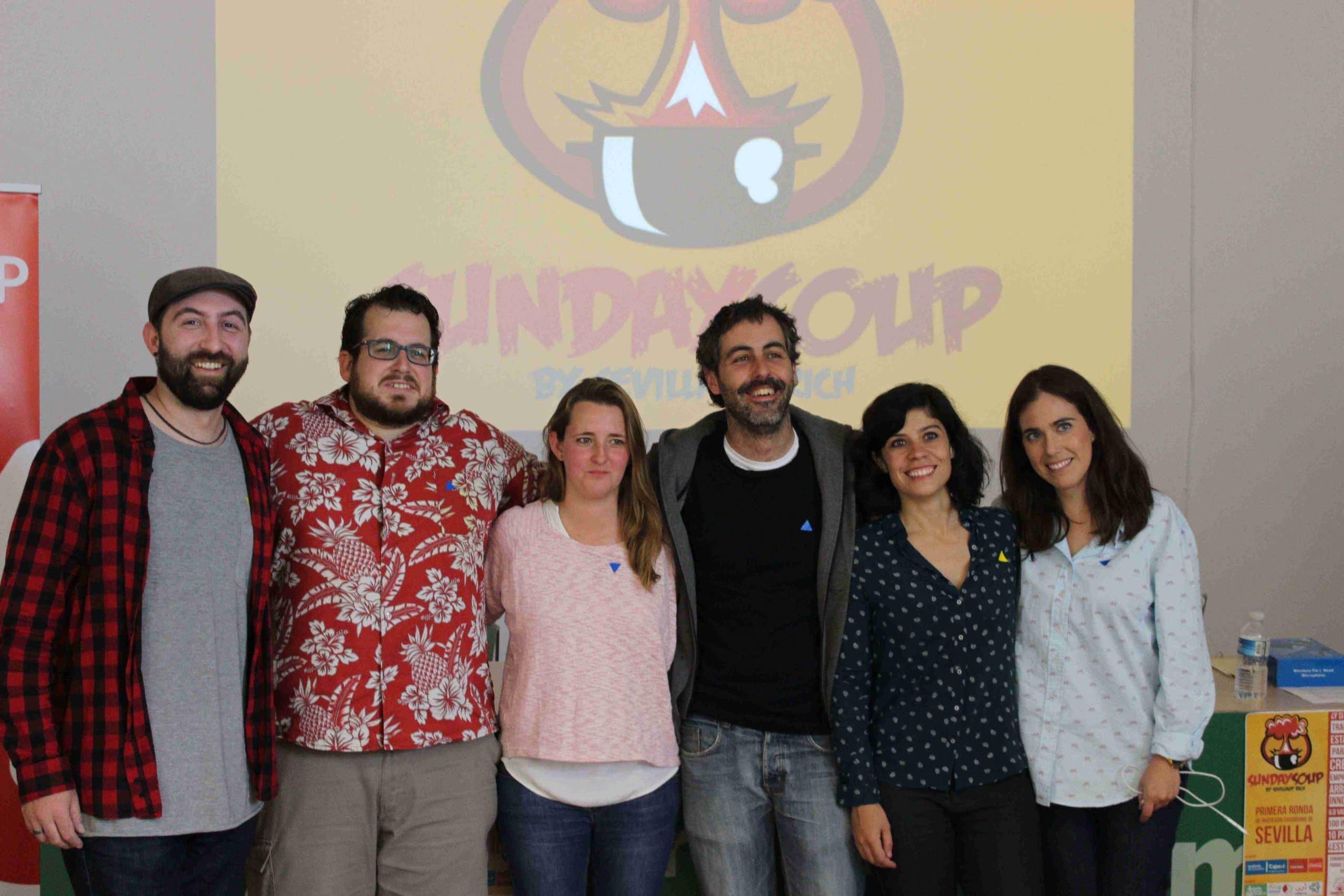 Ganadores Sunday Soup y Presidente Sevilla Up