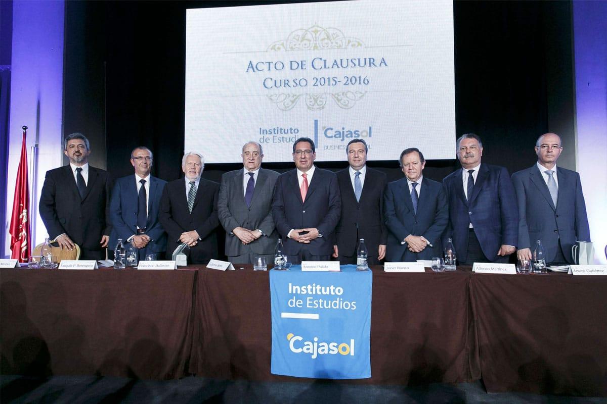 Acto de Clausura curso 2015/2016 Instituto Cajasol Sevilla