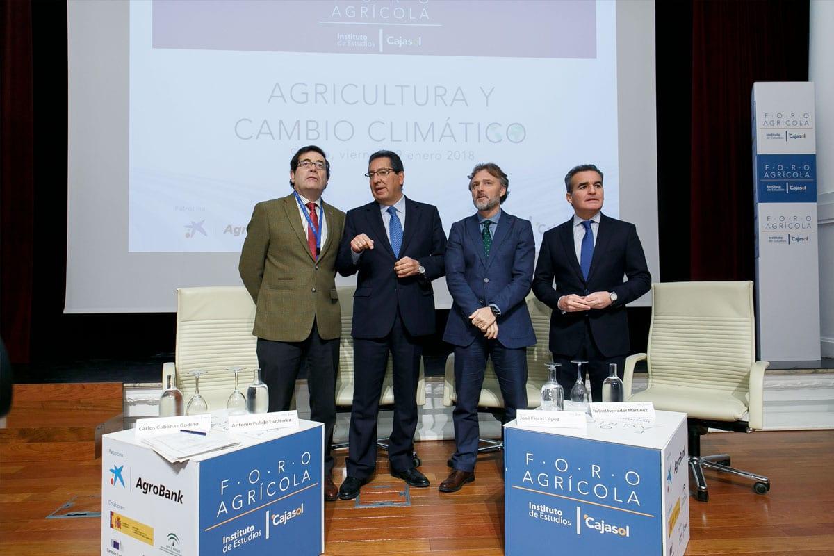 Agricultura y cambio climatico Cajasol Sevilla