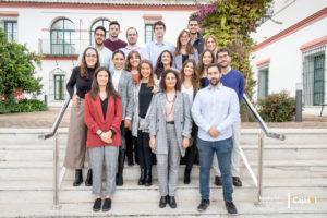 Estudiantes master Finanzas y Direccion de Empresas Sevilla Cajasol