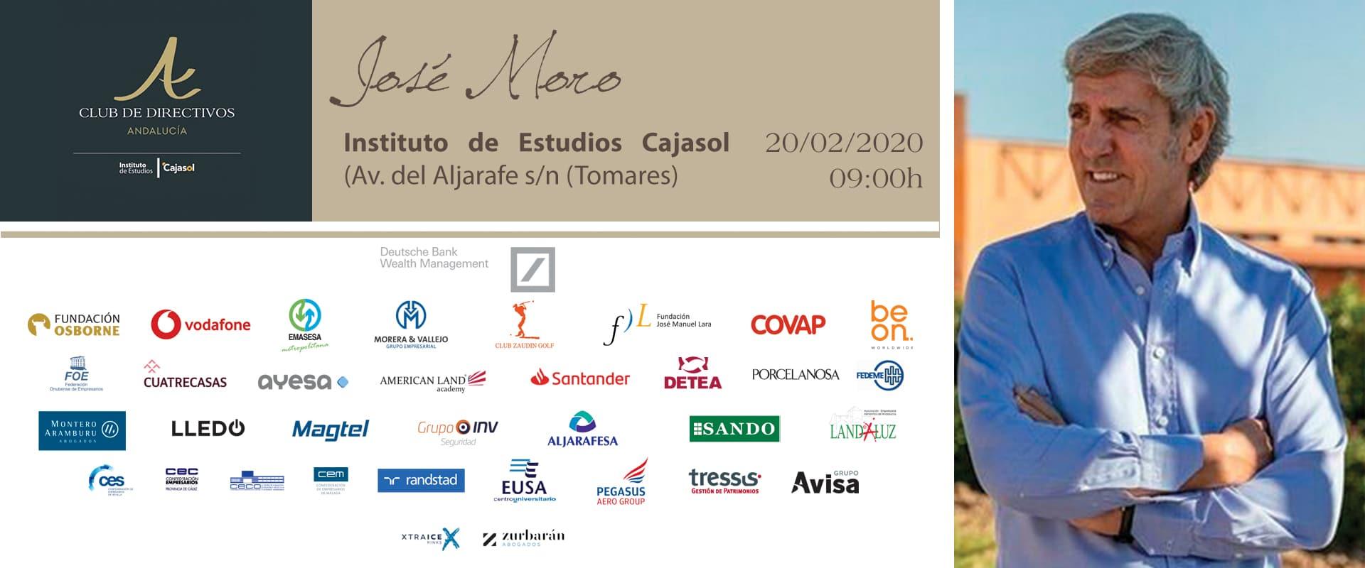 Jose Moro Club de Directivos de Andalucia
